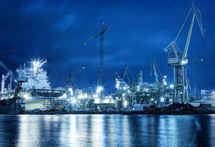HEMEXPO shipyard in Greece