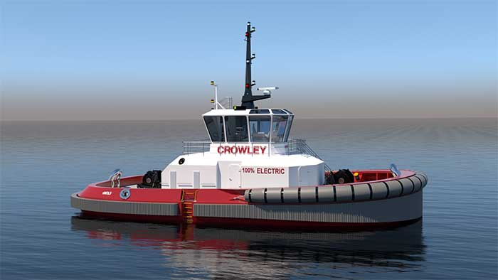 All-electric tug will showcase several ABB solutions