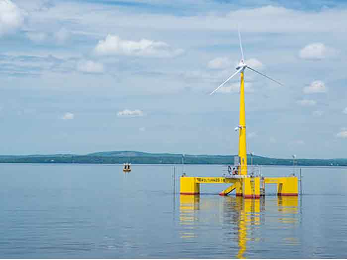 Maine is setting its sighjts on floating wind farms