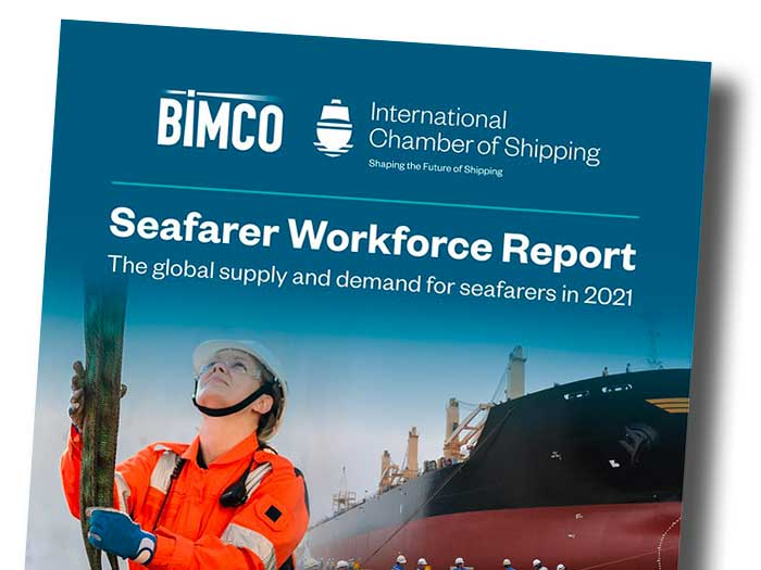 Cover of shipping workforce report