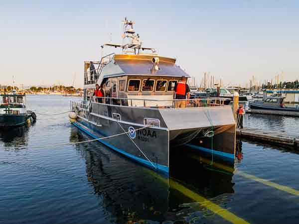twin-engine Teknicraft Design vessel will carry up to 18 personnel on board on a near coastal route