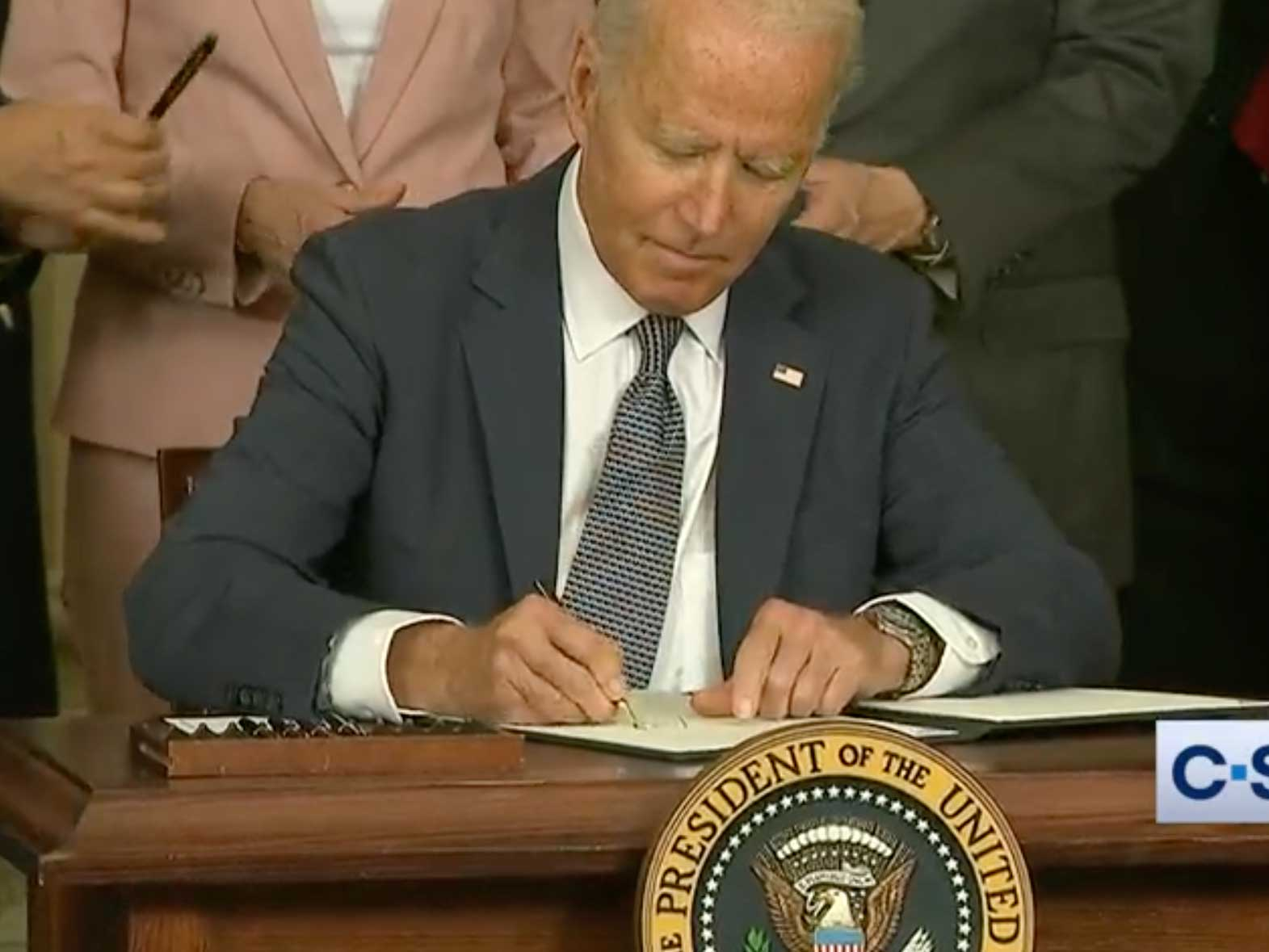 President Biden signs executive order on competition