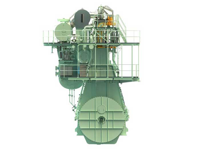 MAN Energy Solutions developed the ME-LGIM dual-fuel engine for operation on methanol, as well as conventional fuel.