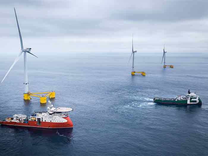 Three floating turbines have been classed by ABS
