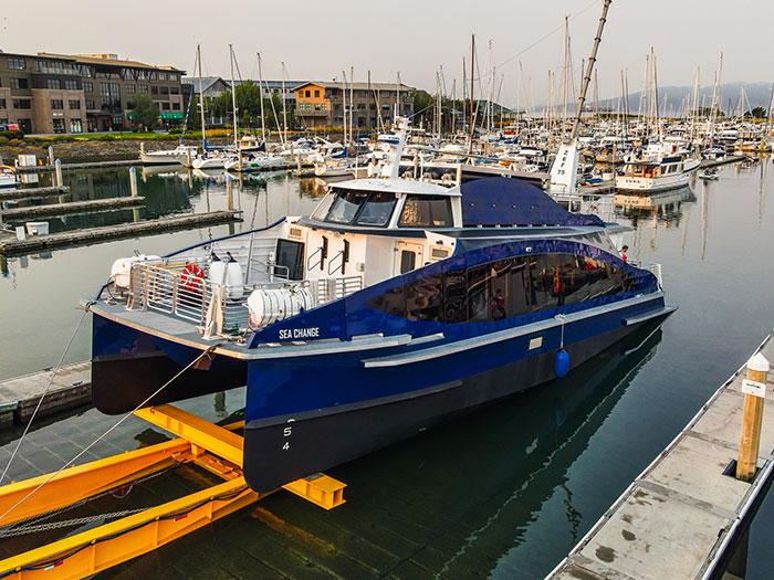 Zero-emission vessel is launched