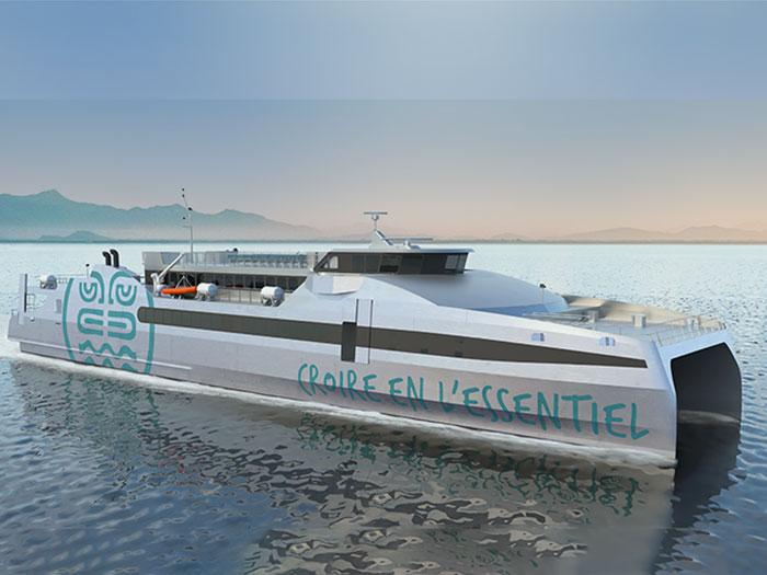 New 66 meter high speed ferry