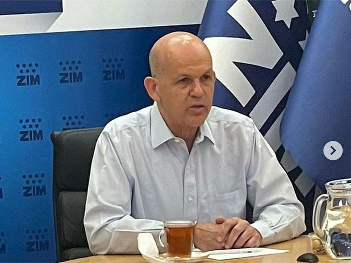 Zim President & CEO Eli Glickman