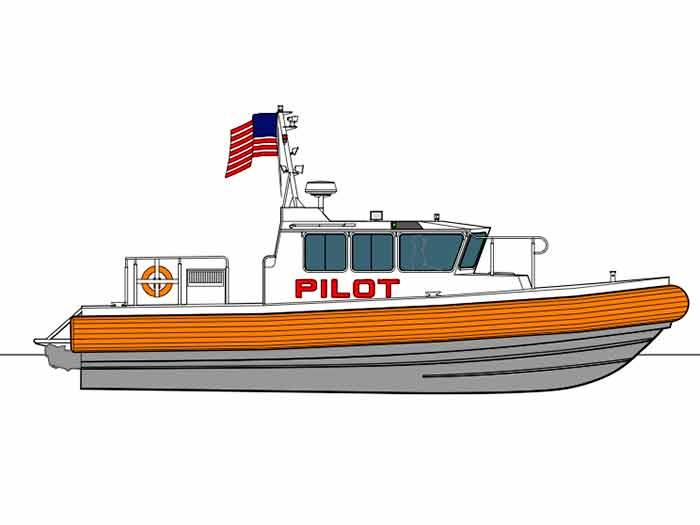 Rendering Resilient class RIB pilot launch
