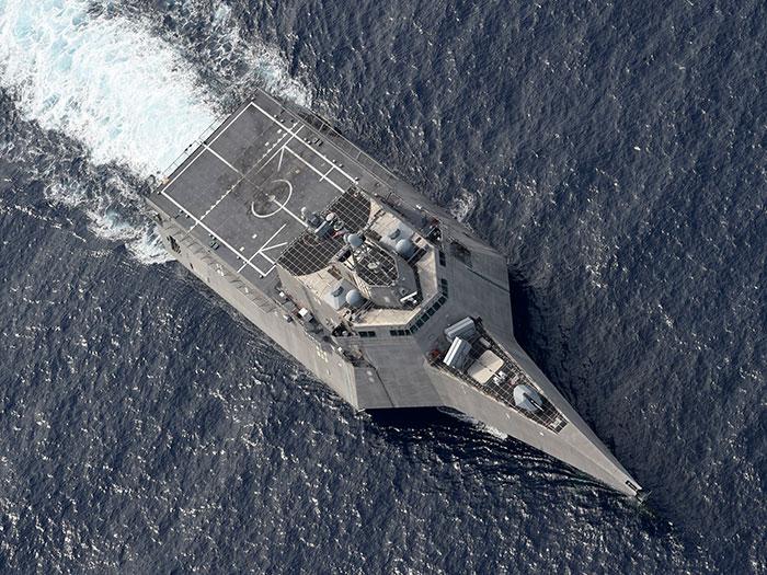 LCS at sea
