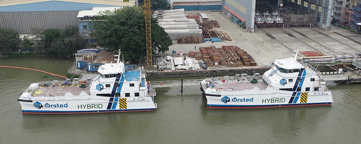 CTVs feature a design with a vast foredeck