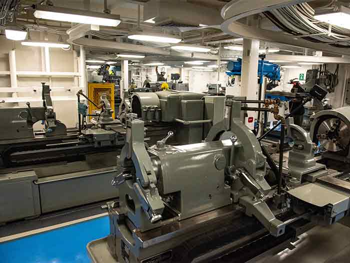 completed compartments in carrier include this machine room