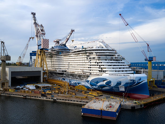 Norwegian Prima is first ship in new NCK class