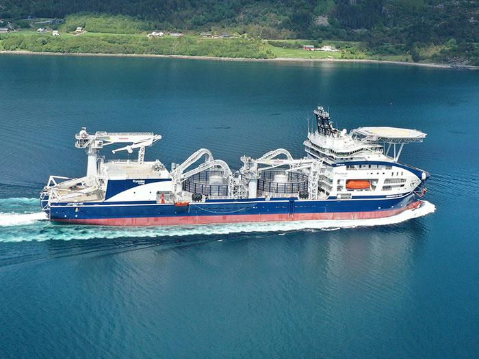 Advanced cable lay ship Leonardo da Vinci