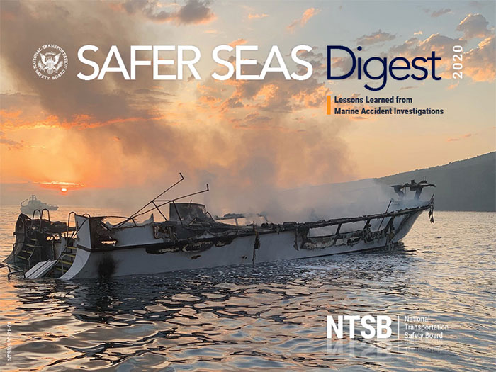 Cover of NTSB Safer Seas 2029 report