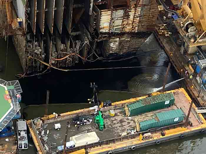 spill recovery efforts
