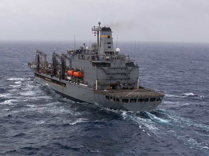 MSC ship at sea