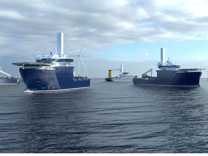 Group of CSOVs to be built by Vard
