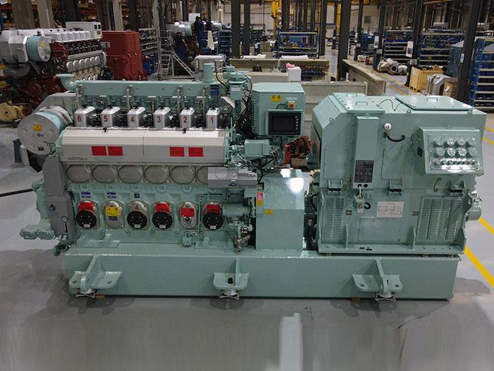 Upgraded engine has lower methane slip