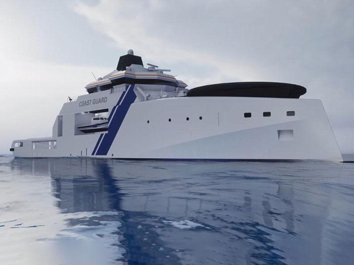 Finnish patrol ship