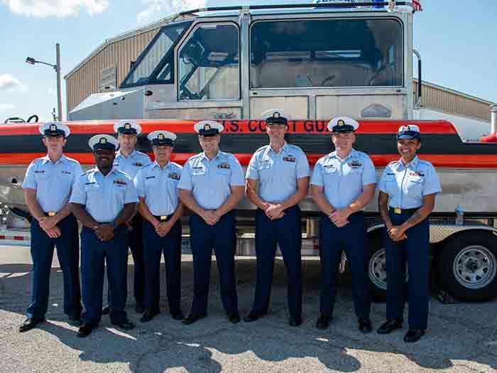 USCG St Louis Personnel