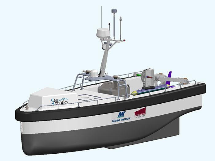 autonomous surface vessel