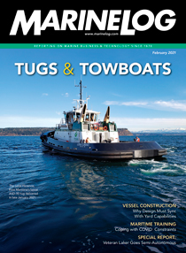 February 2021 Marine Log magazine