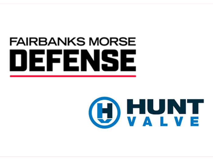 Fairbanks Morse Defense and Hunt Valve logos