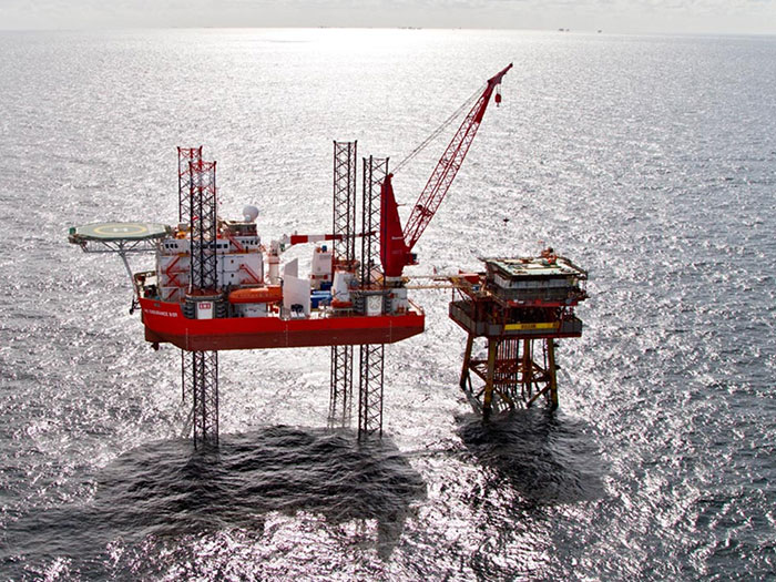 offshore self-elevating platforms