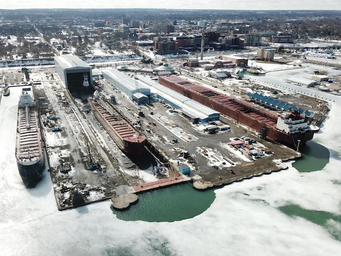 Great Lakes Shipyards