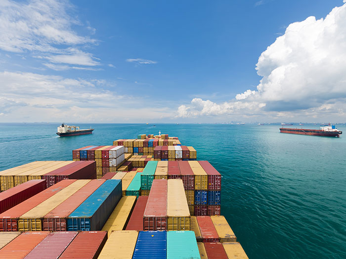Containerships using Jotun reported lower carbon