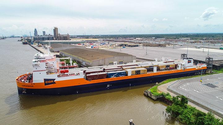 Raul ferry fully loaded