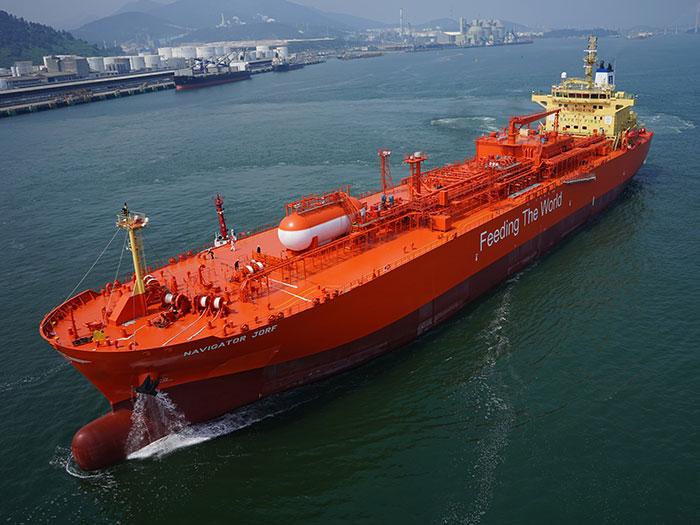 Navigator Gas tanker