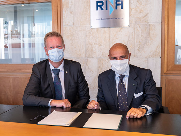 RINA signs Logimatic acquisition