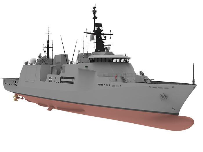 Vard offshore patrol vessel