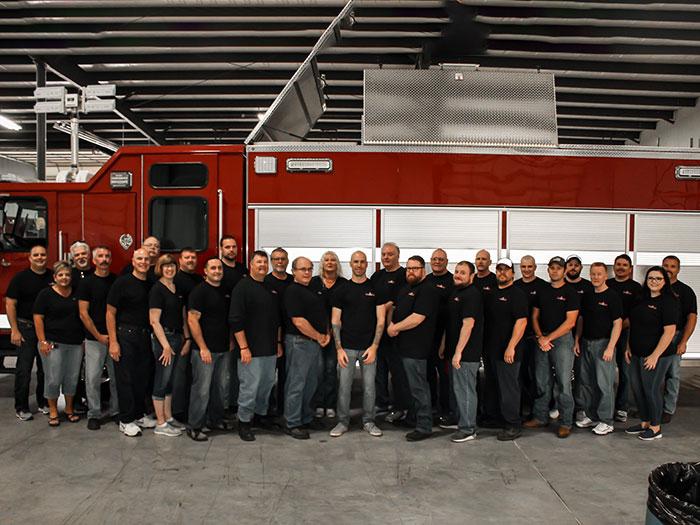 Banner Fire Equipment personnel
