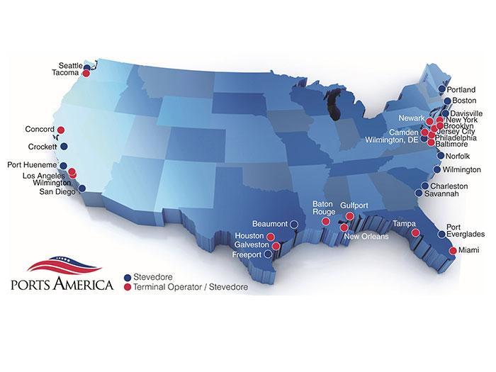 Ports America locations