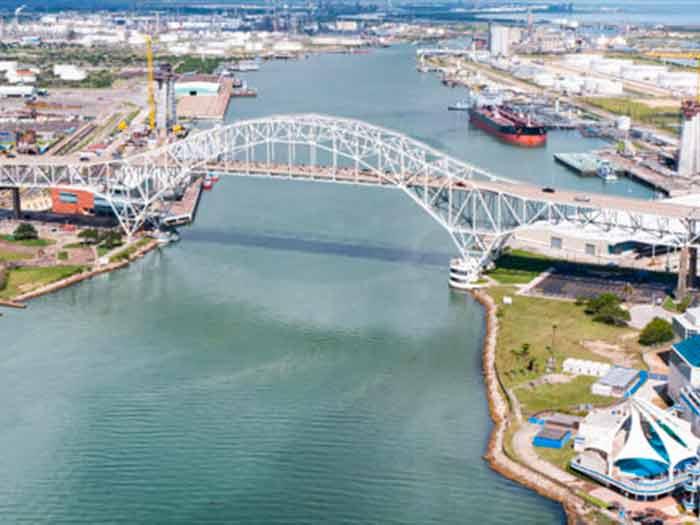 Port of Corpus Christi aerial