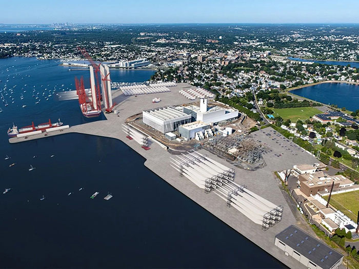 offshore wind port