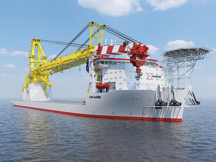 Jan De Nul vessel