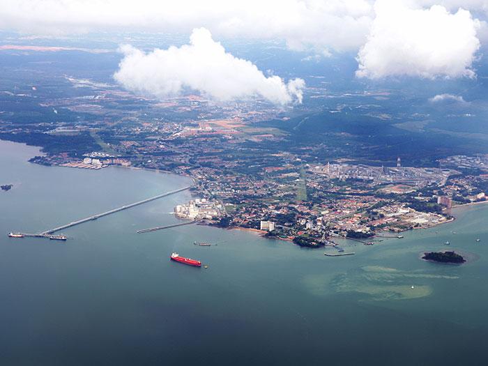 Malaysian port scene