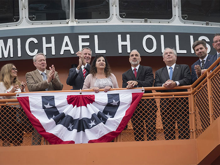 Commissioig ceremony for new ferry