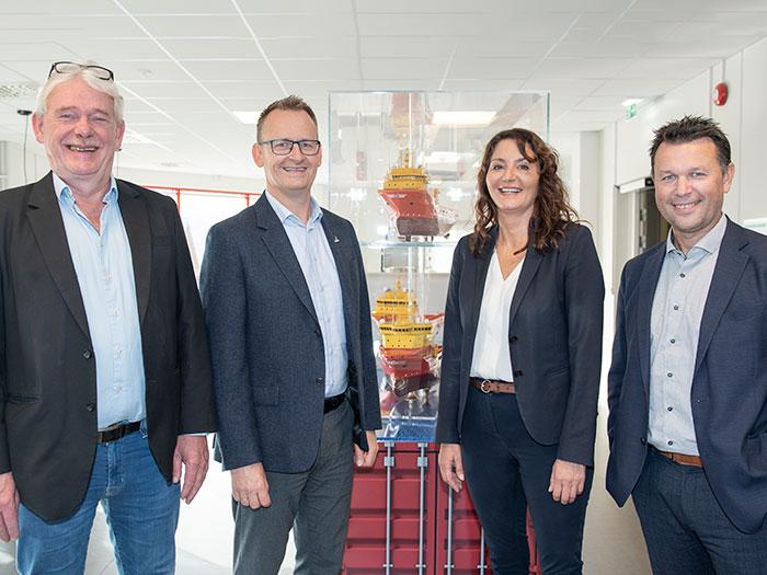 Ammonia fueling project leadership team