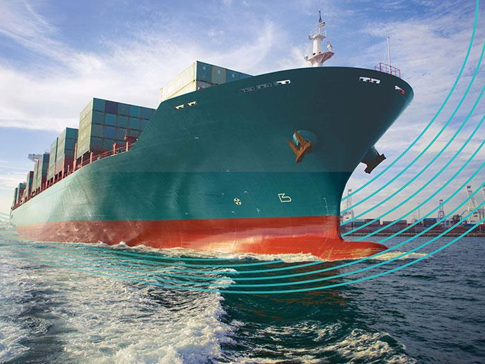 Ship using coatings maintenance package