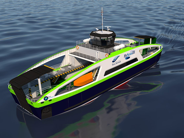 fuel cell powered ferry