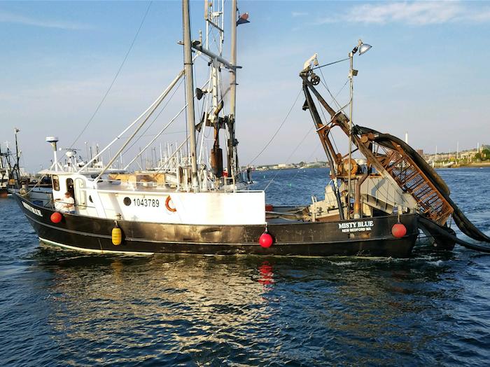 Misty Blue fishing vessel