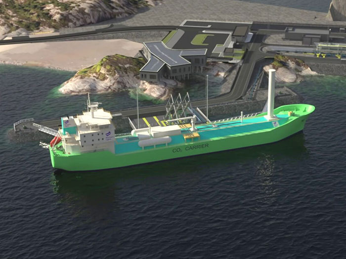 CO2 carrier ordered by Northern Lights JV
