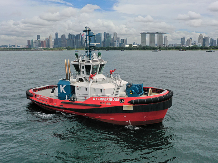 RT Imperieuse: One of two Kotug Rotortugs chartered in by BHP