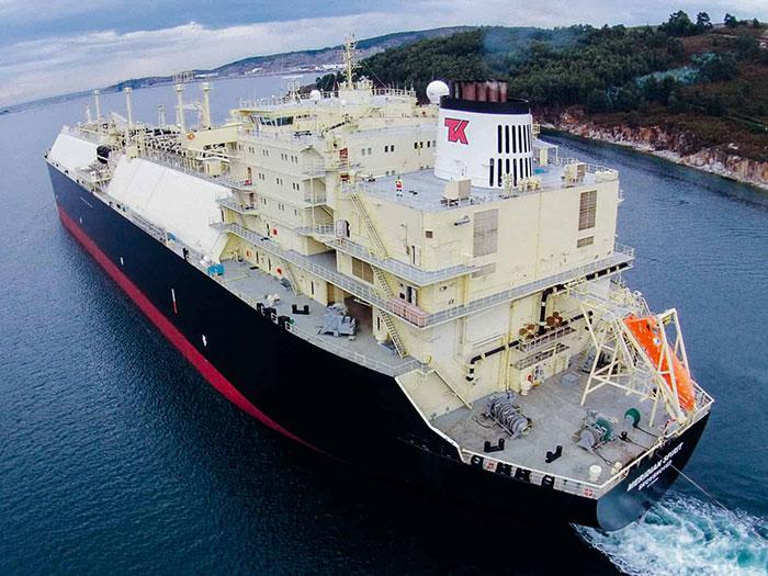 TK LNG carrier