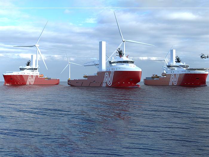 CSOV and OSV vessels