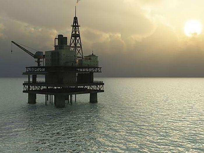 offshore oil rih